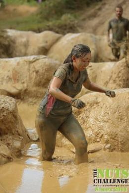 The Nuts Challenge - 7km mud obstacle course 31st August 2014