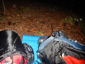 My first solo sleep out 19th Sept 2015 - Merstham to Otford
