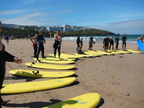 Summer 2014 - Surfing in Newquay